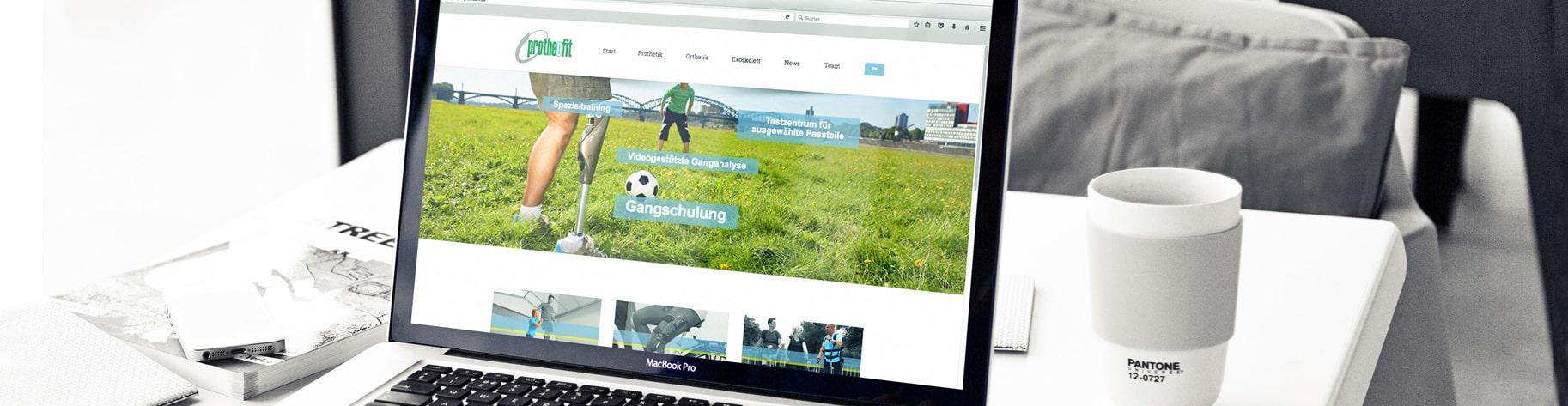 Website und Webshop Programmierung und Gestaltung Werbeagentur