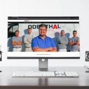 Erstellung einer Website von Dimensionen Querdenken